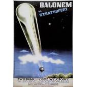 PLAKAT BALONEM DO STRATOSFERY