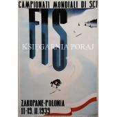 PLAKAT FIS 1939 CAMPIONATI MONDIALI