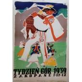 PLAKAT TYDZIEŃ GÓR 1939