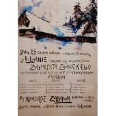 PLAKAT KONCERT PIEŚNI 1906 ROKU